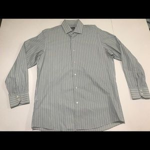 Hugo Boss Striped dress shirt men's 16 1/2 32/33